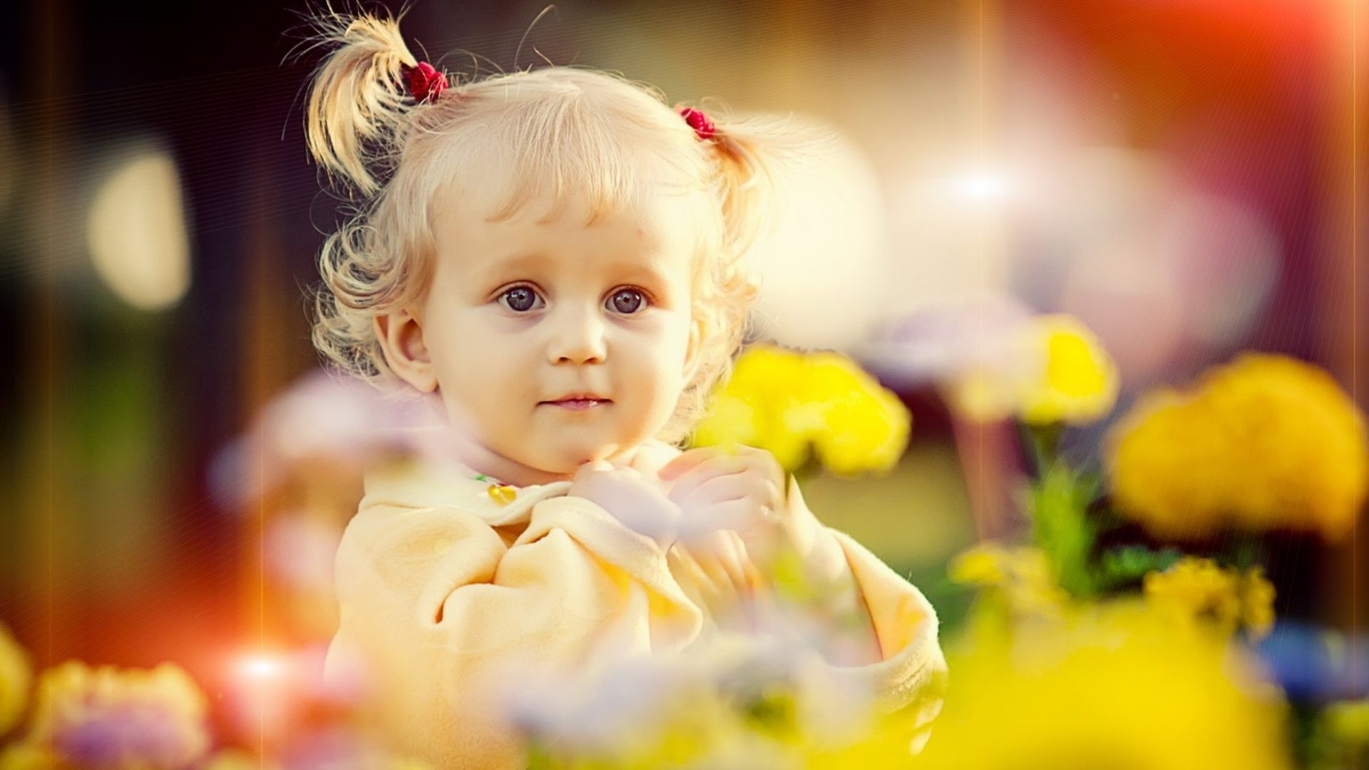 Baby Girl Beautiful Hair Style Baby Girl Wallpaper Baby Girl Hairstyles Baby Wallpaper