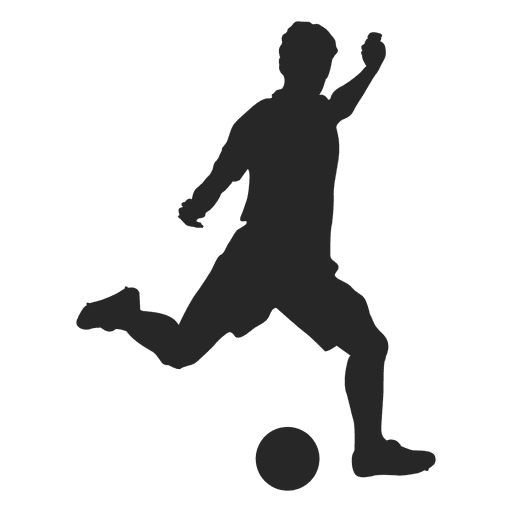 Soccer Player Hitting 1 Ad Affiliate Sponsored Hitting Player Soccer In 2020 Football Silhouette Silhouette Art Silhouette Painting