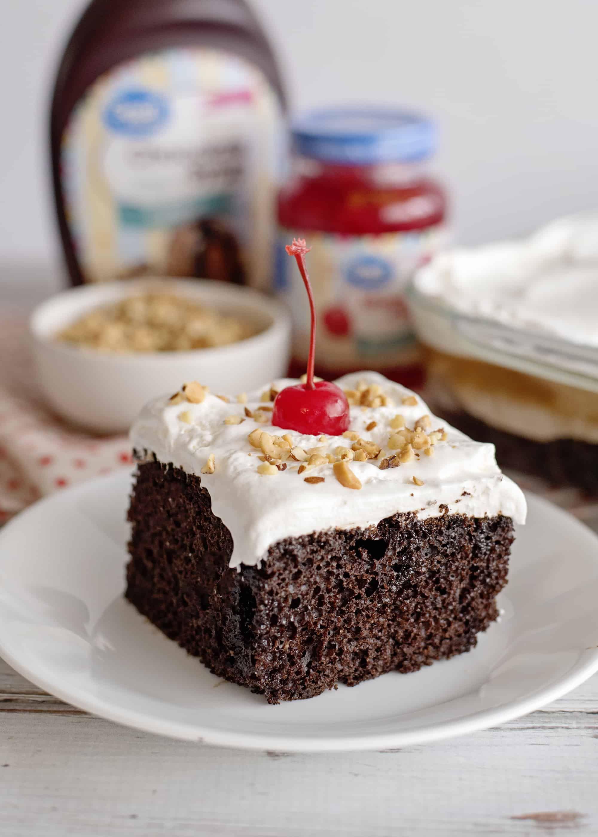 Chocolate sundae cake southern plate in 2020 chocolate