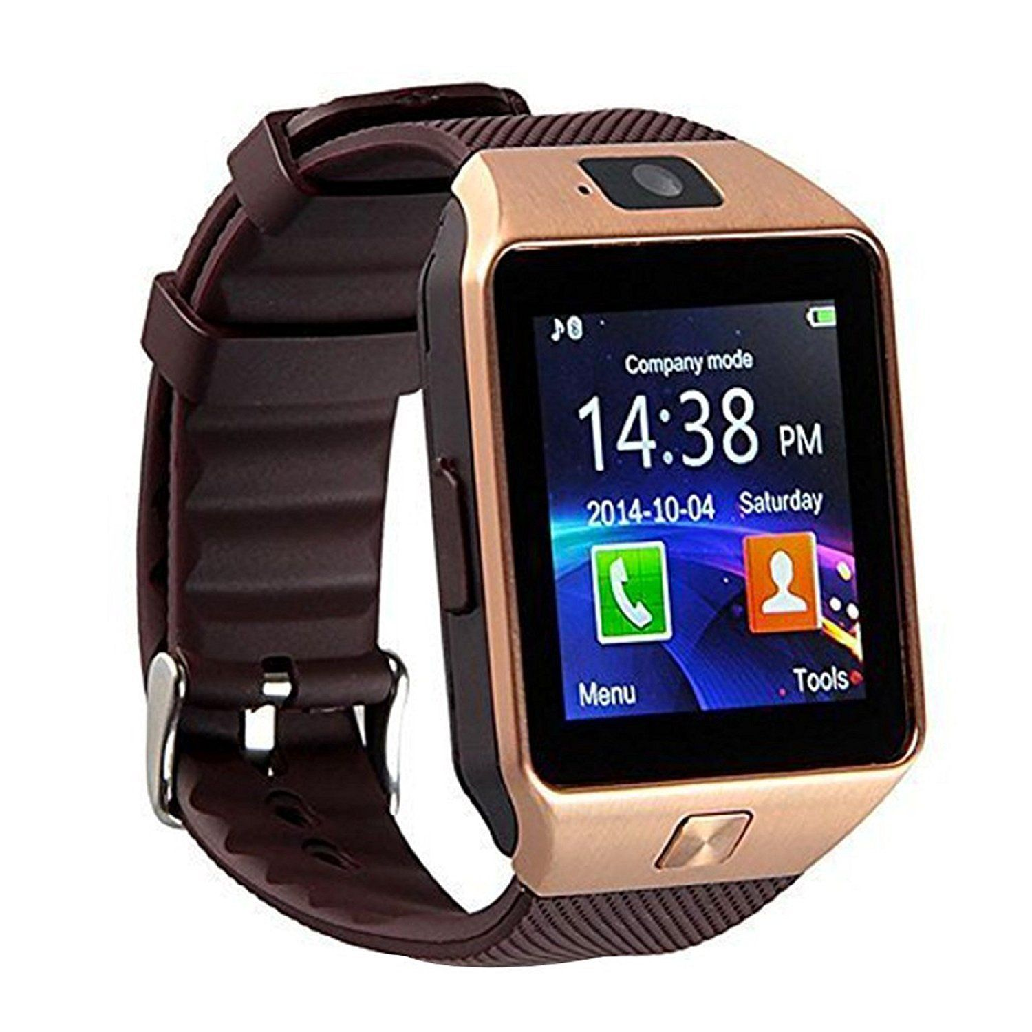 YOMY DZ09 Bluetooth Smart Watch Touch Screen Smart Wrist Watch Phone Support SIM TF Card With Camera Pedometer Activity Tracker for Iphone IOS Samsung