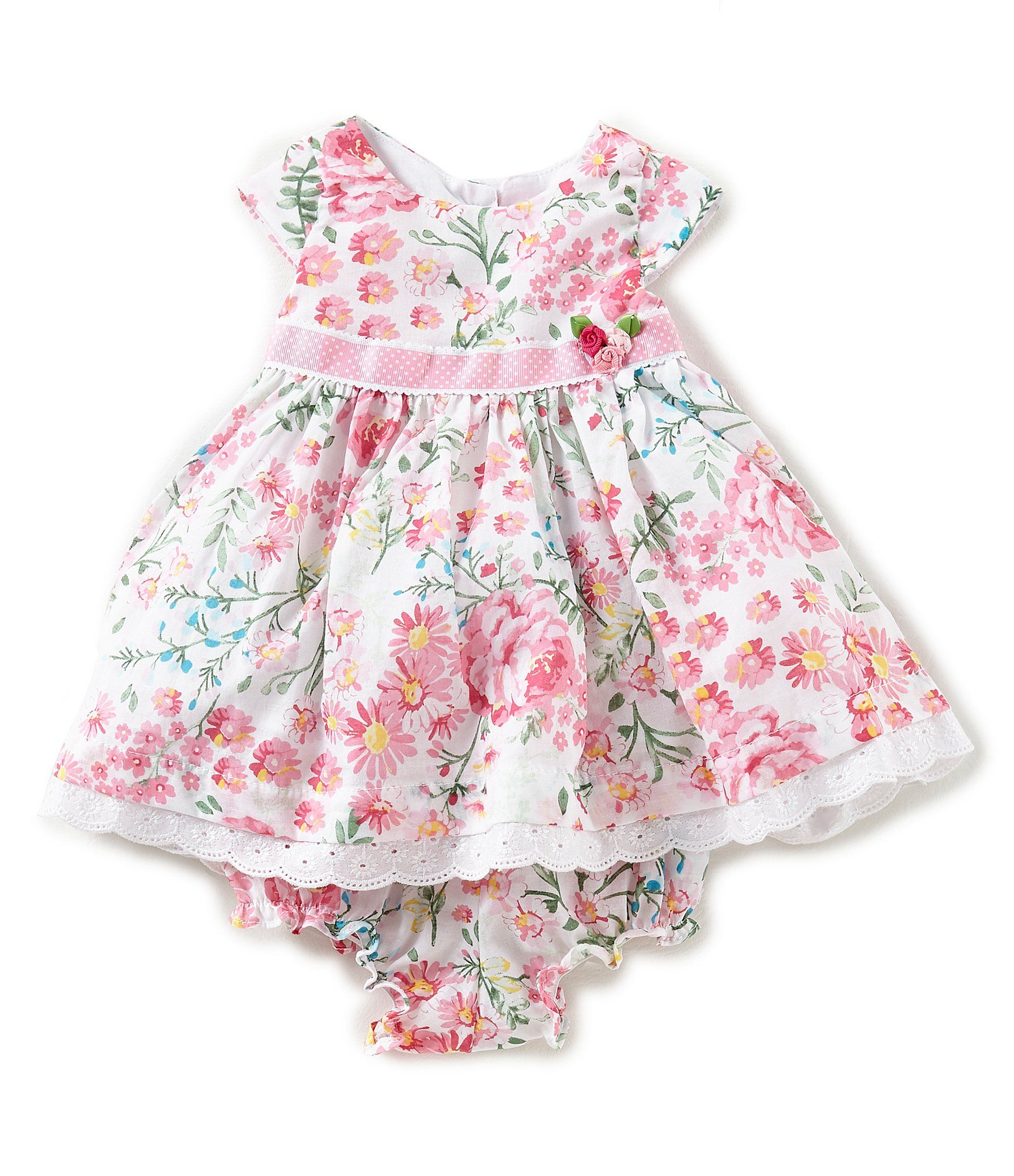d84c2a7fa Shop for Laura Ashley London Baby Girls Newborn-24 Months Cap-Sleeve Floral  Dress at Dillards.com. Visit Dillards.com to find clothing, accessories,  shoes, ...