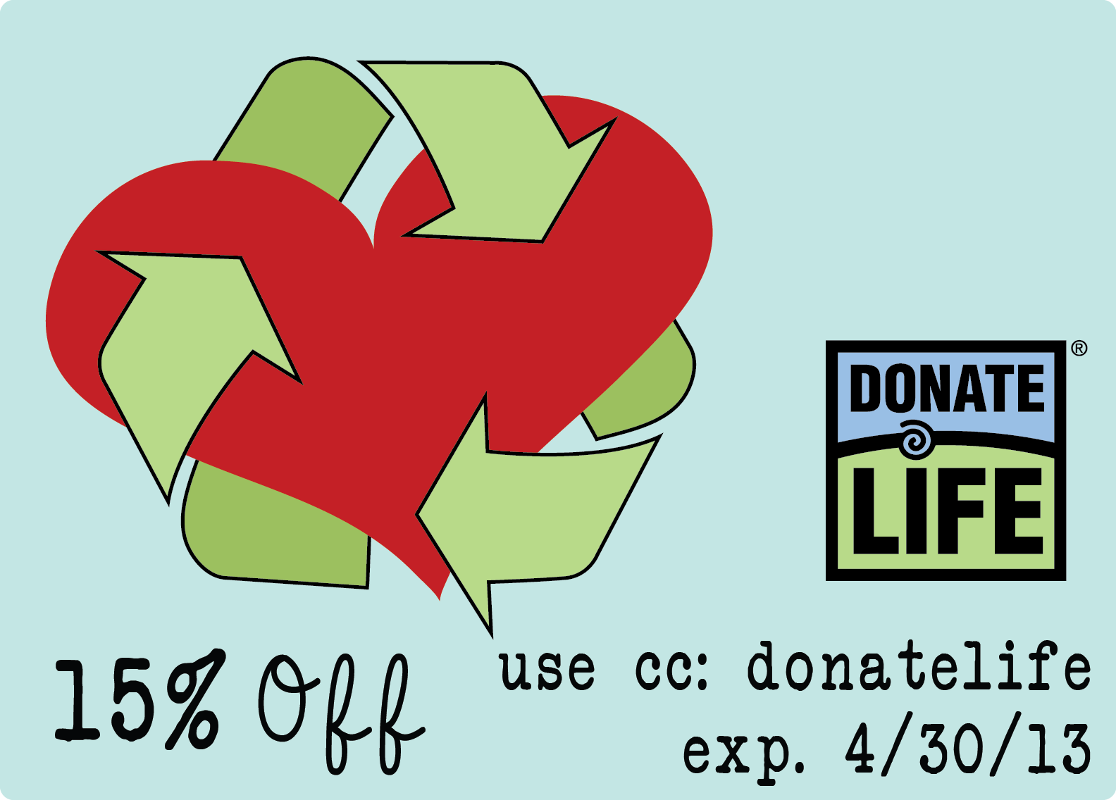 donate life coupons