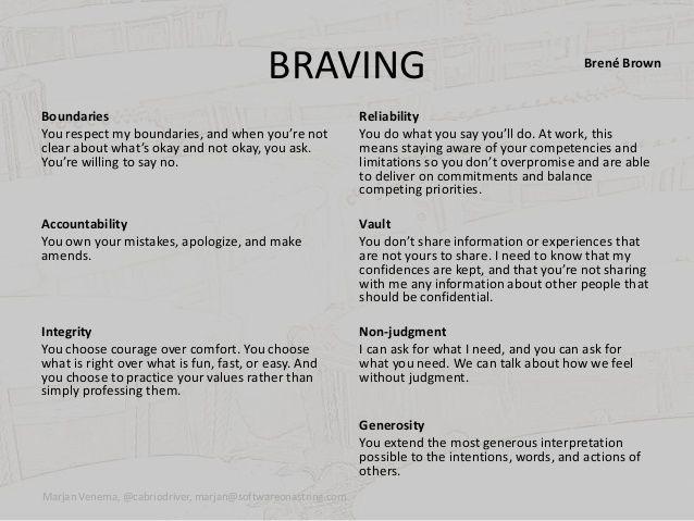 braving brene brown