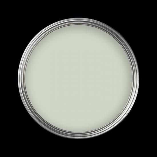 Graue Kreidefarbe mit Grün-Touch - MissPompadour