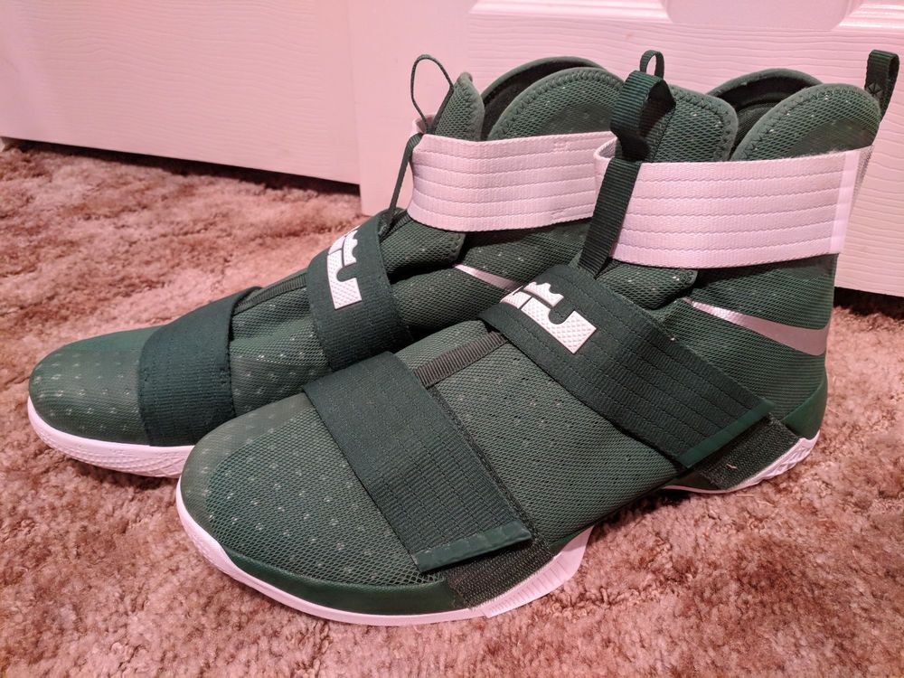 e3911c441cf Nike Lebron Soldier X Green Size 17 856489-331  fashion  clothing  shoes   accessories  mensshoes  athleticshoes (ebay link)