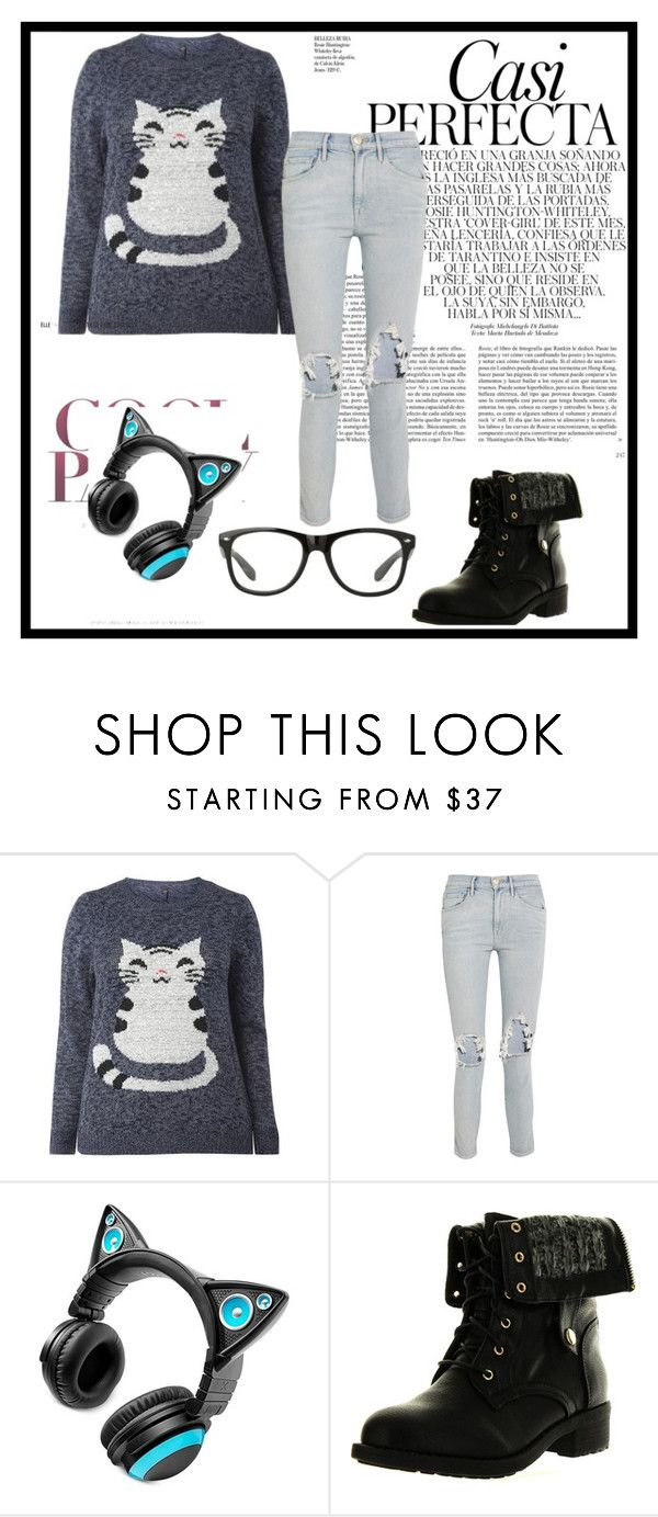 """""""Winter Kitty"""" by ariya1 on Polyvore featuring 3x1, Brookstone, Refresh and Whiteley"""