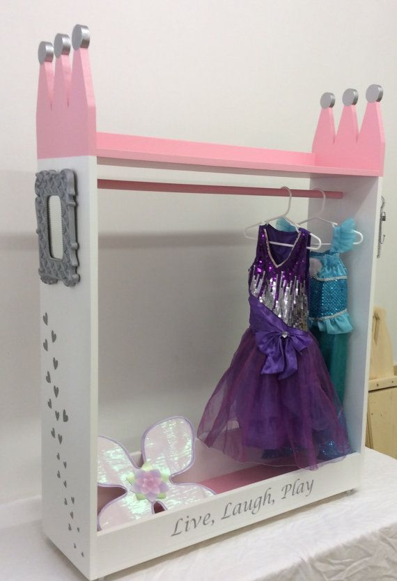 Princess Dress Up Closet Dress Up Storage by TravelingElephants