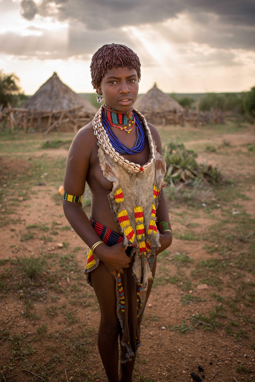 The Hamer Women   African tribes, African girl, African ...