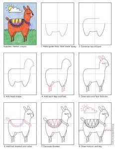 Image Result For Outline Of Alpaca Filz Spielzeuge
