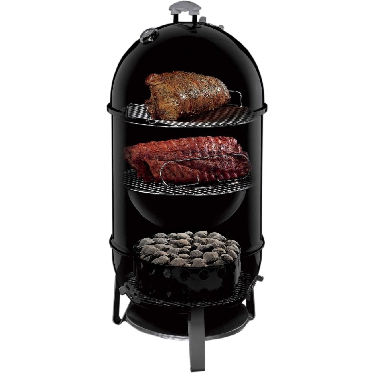 weber 18 1 2 inch smokey mountain cooker charcoal smoker 39 q time pinterest smokers. Black Bedroom Furniture Sets. Home Design Ideas