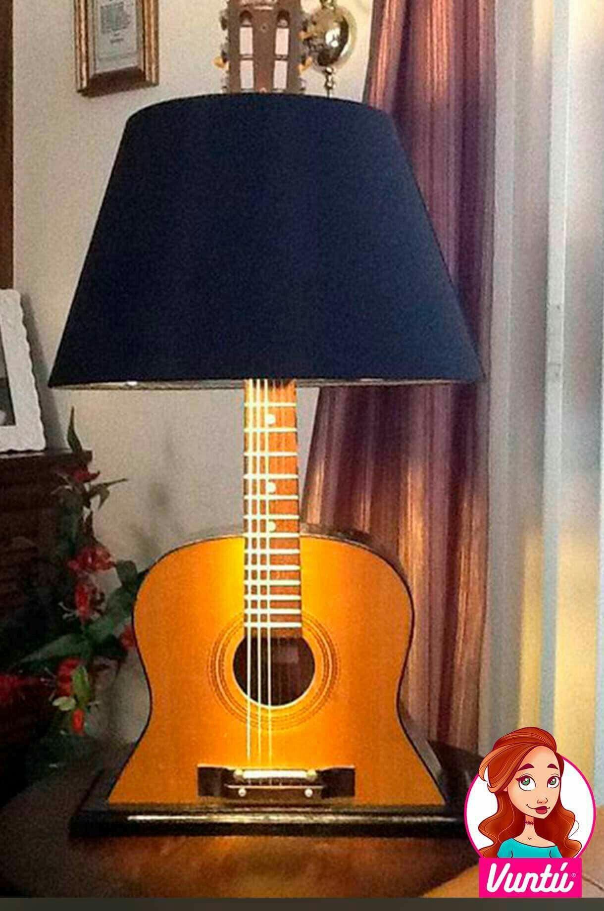 guitarra de in Lámpara 2019LightingRepurposed furniture UVMqpzGLS