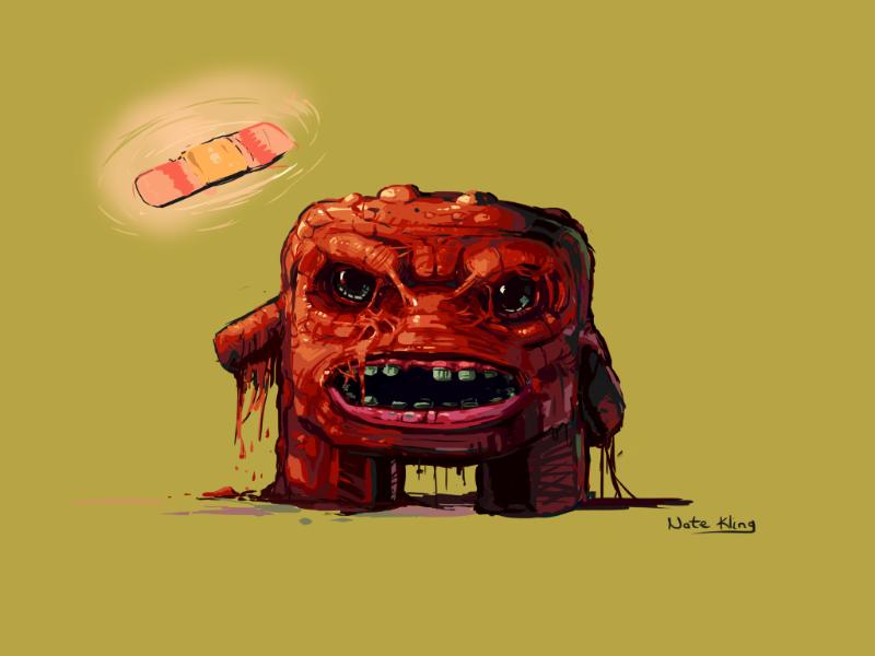 Super Meat Boy Game Art Video Game Art Video Game