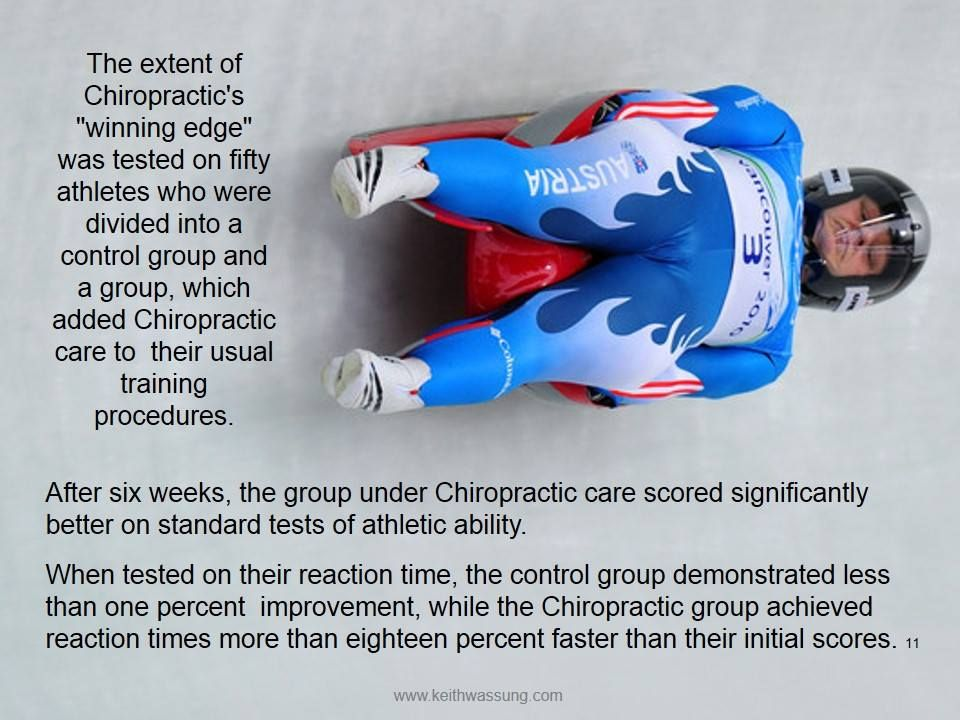 Chiropractic and athletes Chiropractic care