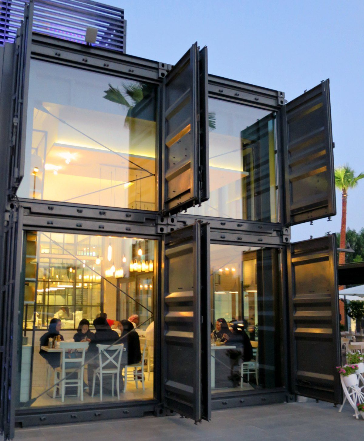 Container Haus London Shipping Container Shops Dubai Inbox In 2019 Building A