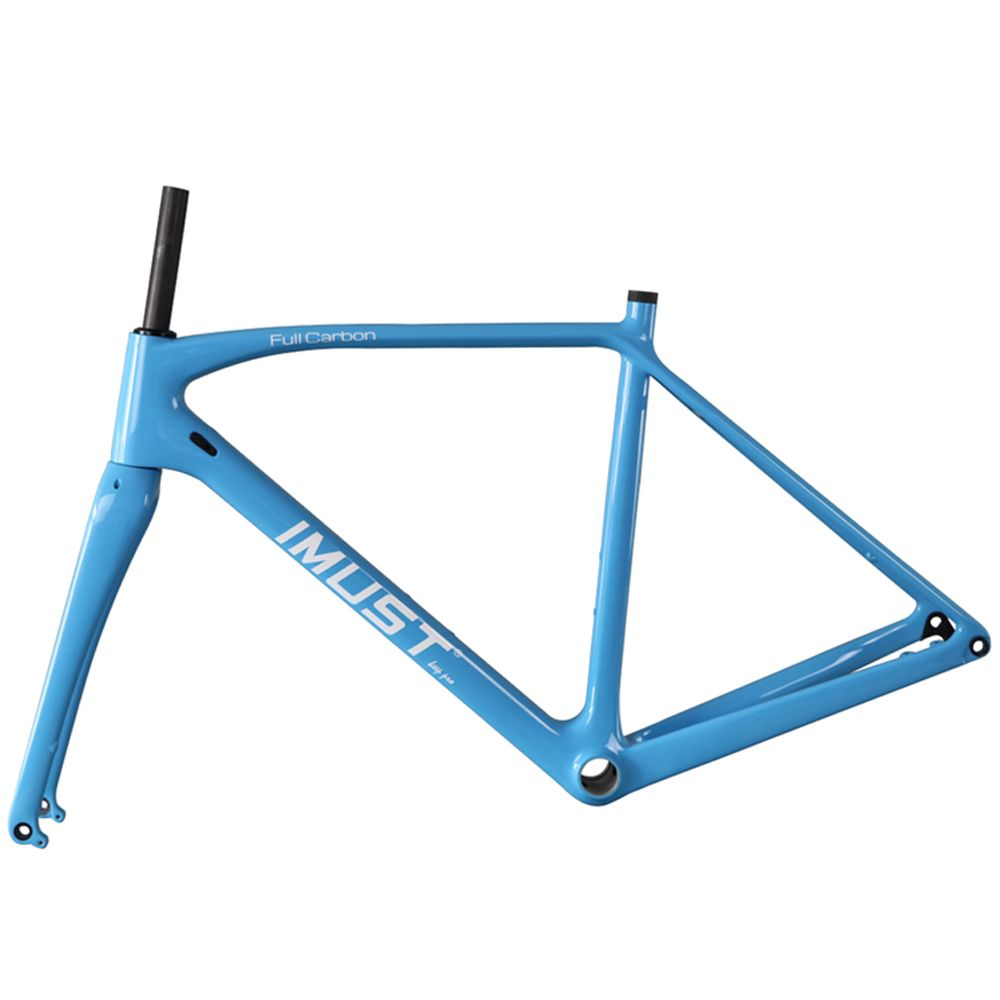 Free Shipping] Buy Best 2017 carbon cyclocross bike frame flat mount ...