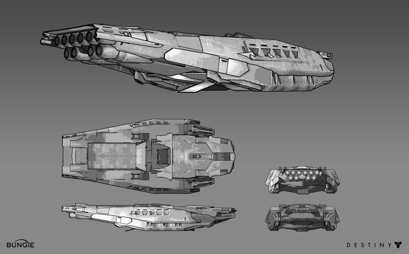 Spacecraft Designs From Destiny What Do You Think Sleek Looking
