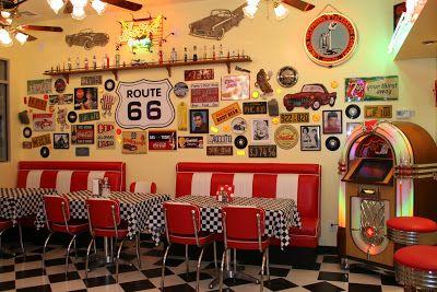 50s Diner Decor