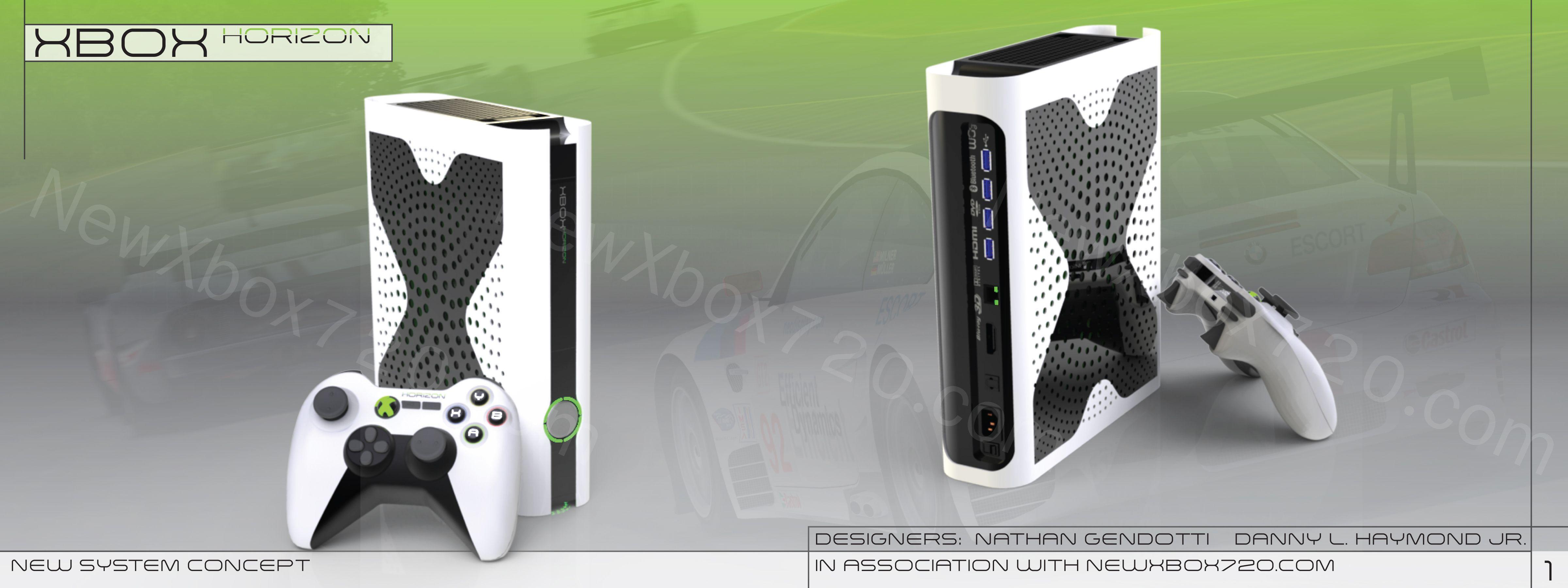 Xbox One Slim Concept xbox one console   Xbo...