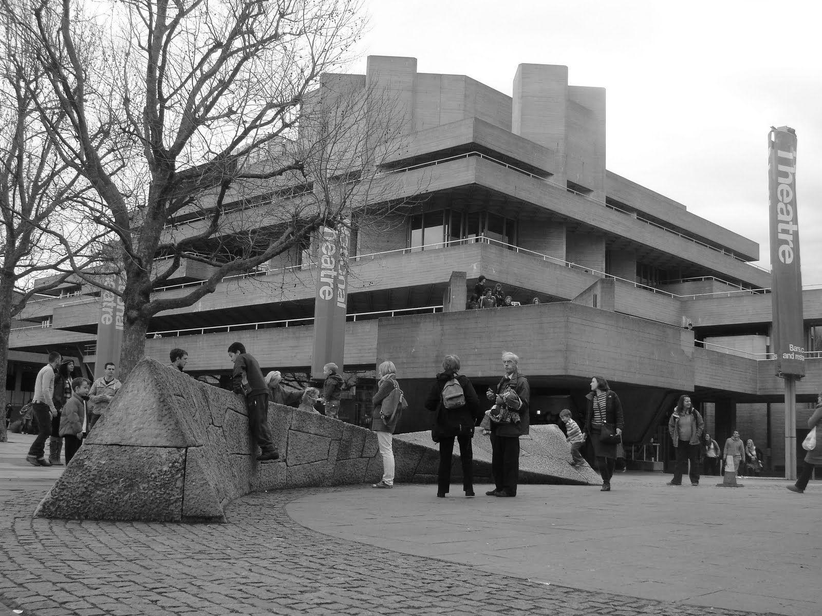 The National Theatre, London, 1967-1976. Architect: Denys Lasdun