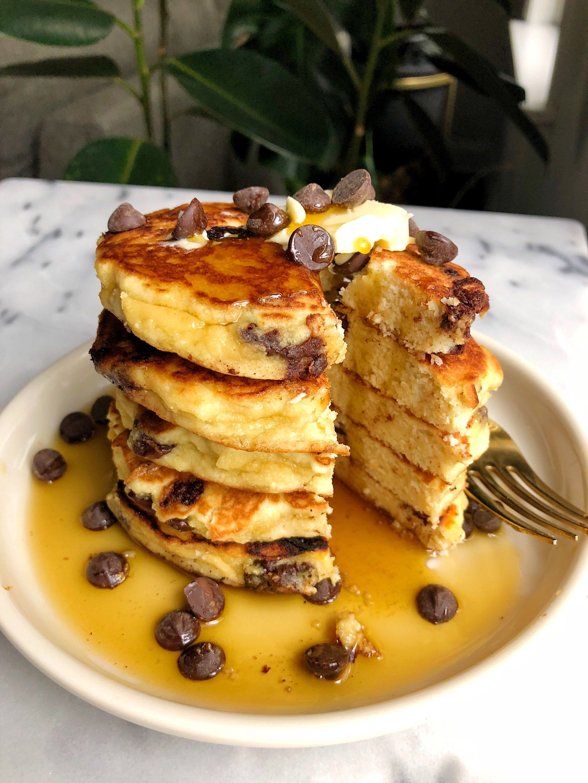 Fluffy Paleo Pancakes Gluten Dairy Free Rachlmansfield Recipe Fluffy Paleo Pancakes Paleo Pancakes Pancakes Healthy