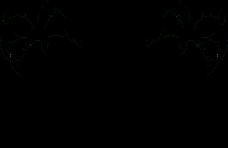 Free Image On Pixabay Palm Trees Facing Palm Tree Clip Art Palm Tree Silhouette Silhouette Art