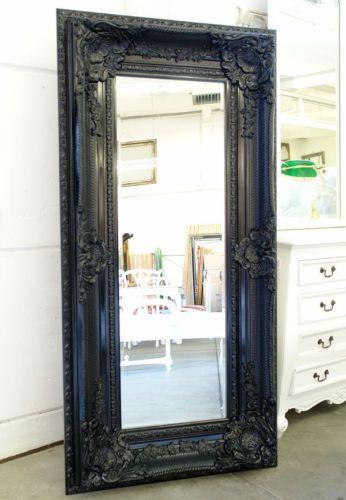 Ebay 289 Neu Barock Black Classic Wandspiegel Ca 160x88cm Elegant Grosser Spiegel Schwarz Miroir Noir Miroir Baroque Grand Miroir