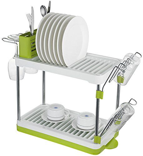 Amazon Drying Rack Fascinating Surpahs 2Tier Compact Dish Drying Rack Surpahs Httpsmileamazon Inspiration