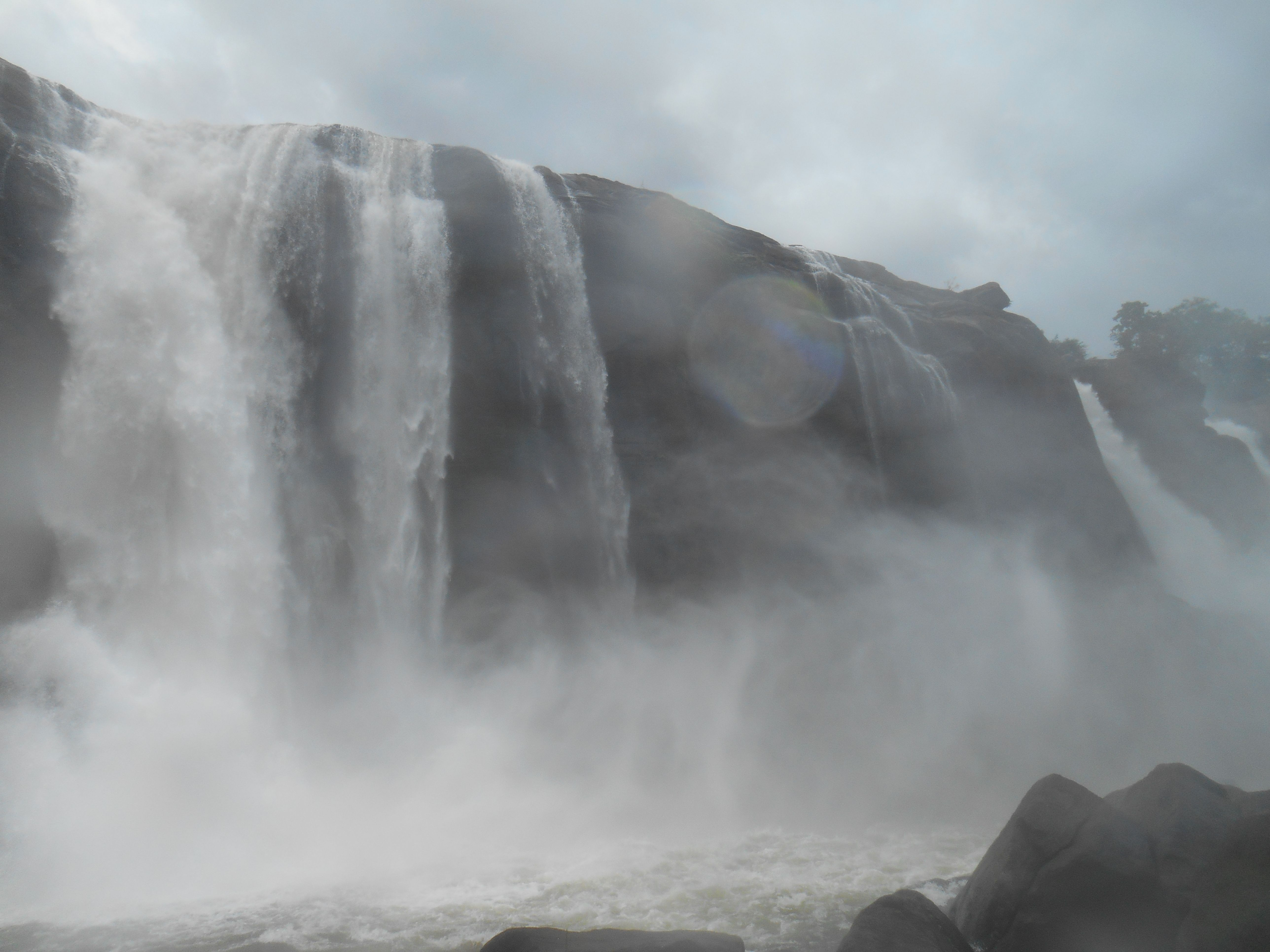 the Great Fall- Athirapally, more at http://trekkingindiana.blogspot.in/2015/11/the-magnificent-waterfall-athirapally.html#gpluscomments, video at https://www.youtube.com/watch?v=ld6ywx_JIQA