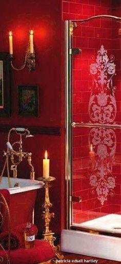 Bright Red Accent Decor Red Home Decor Decor Colorful Decor