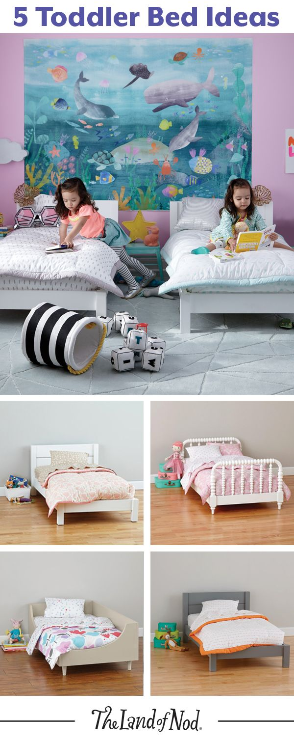 If Your Little One Is Done With The Crib Before They Re Ready For A Twin Size Bed A Toddler Bed Is A Great Alternativ Toddler Beds Big Girl Bedrooms Girl Room