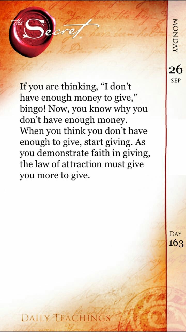 Positive Thinking Law Of Attraction Affirmations Secret Quotes