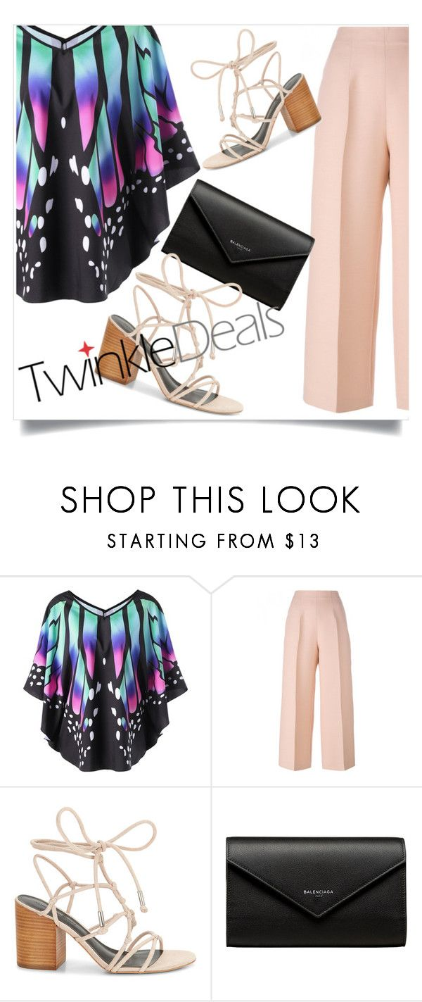 """""""Summer top"""" by sing-forthelife ❤ liked on Polyvore featuring Fendi, Rebecca Minkoff and Balenciaga"""