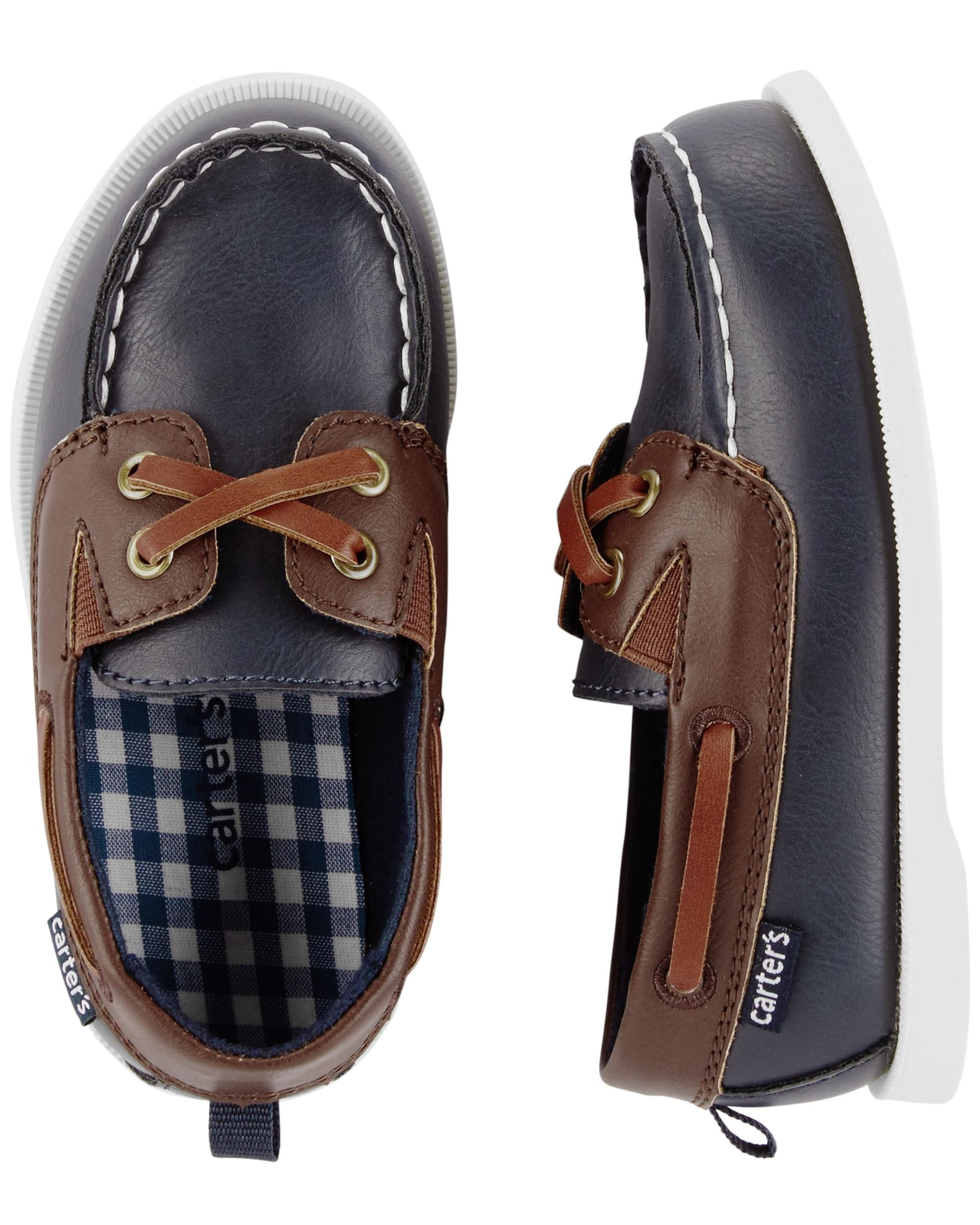 668290992 Carter s Boat Shoes