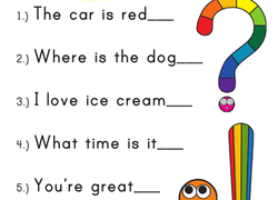 1st Grade Punctuation Worksheets & Free Printables ...