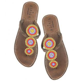 Aspiga Multi Neema Kenyan Sandals. Worldwide Shipping