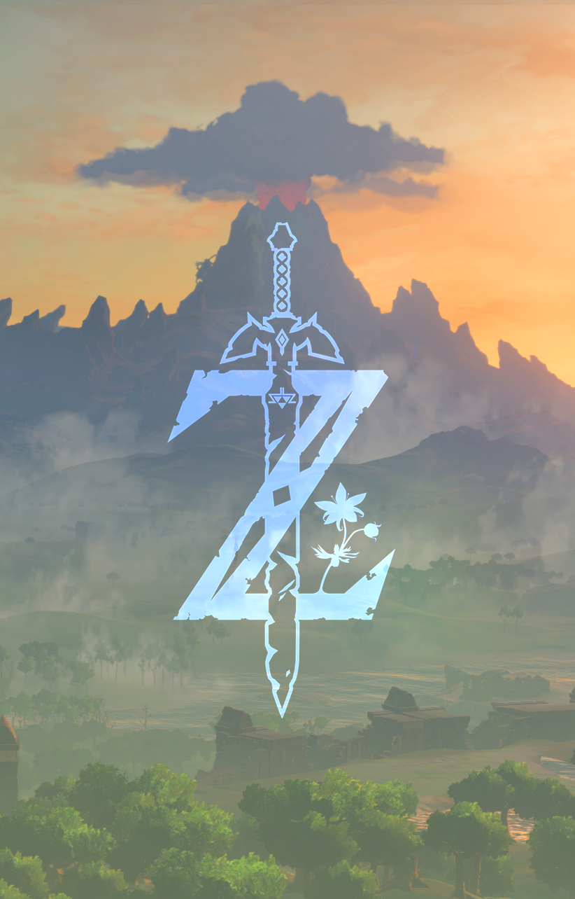 Botw Wallpaper Phone : wallpaper, phone, Legend, Zelda, Mobile, Wallpaper, Breath,