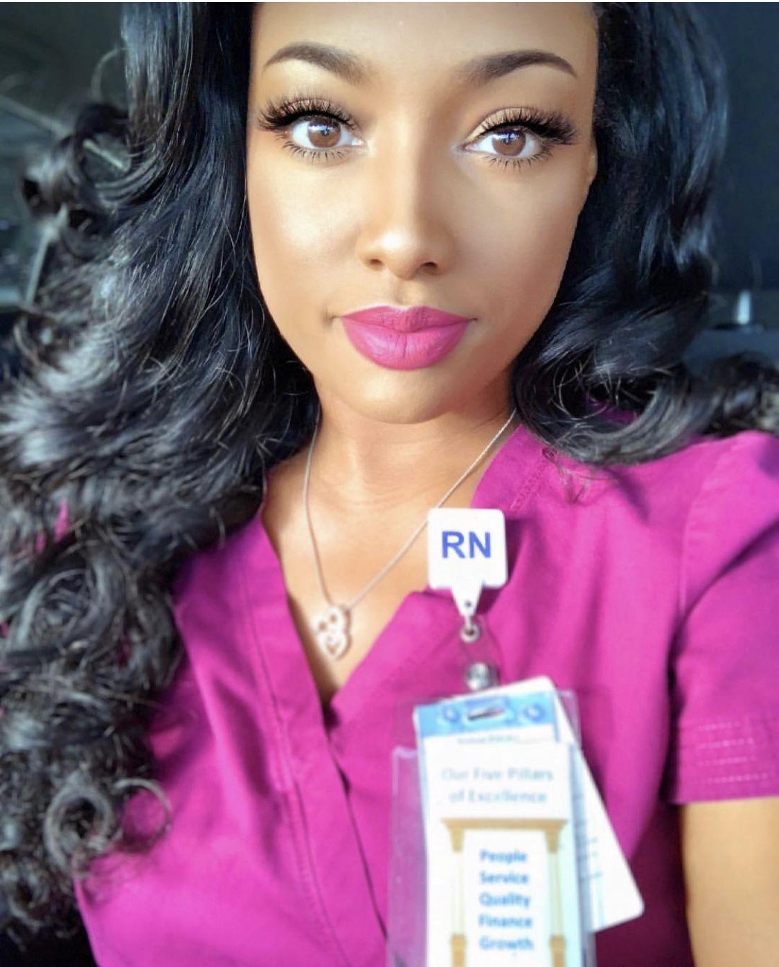 Pin By Lesa Bernacet On Rn Life Nurse Outfit Scrubs Scrub Style Beautiful Nurse