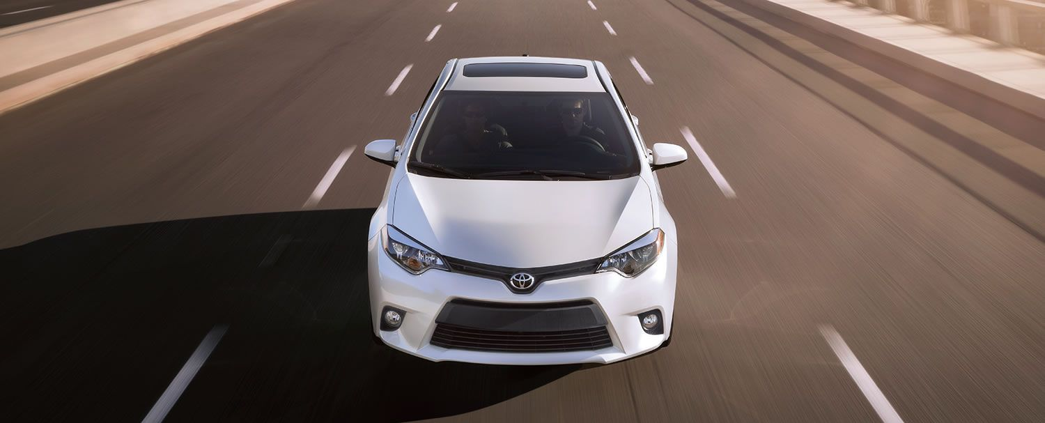 2015 Toyota Corolla Moonroof Let the light in from