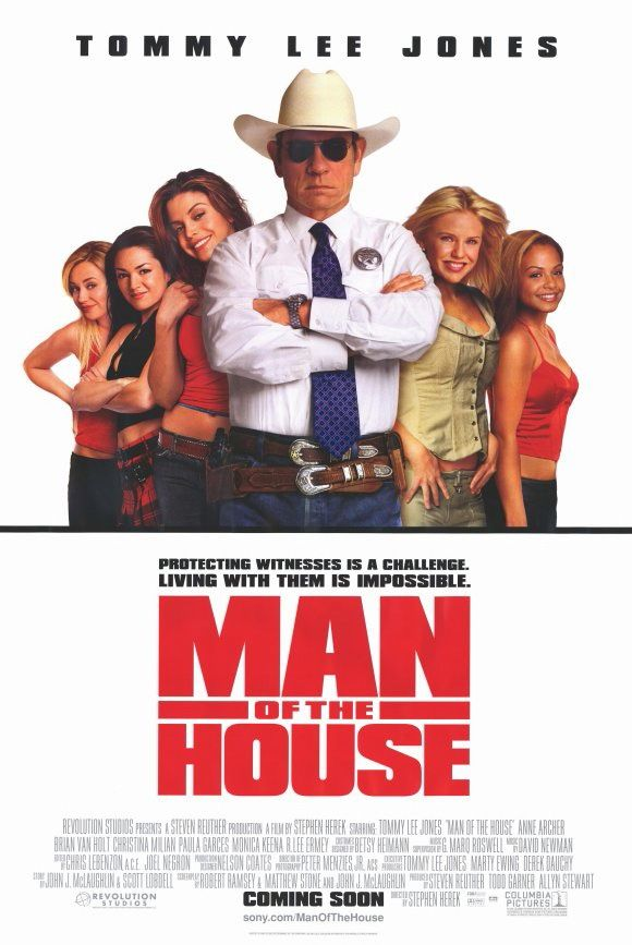Movie Poster Comedy Films Tommy Lee Jones Man Of The House