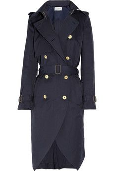 Yves Saint Laurent Cotton-gabardine trench coat