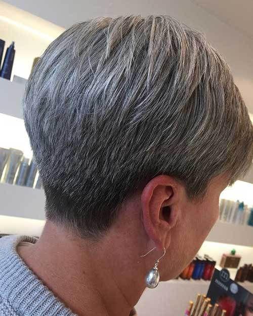 20 Short Haircuts For Older Women Fryzury Dla Siwych
