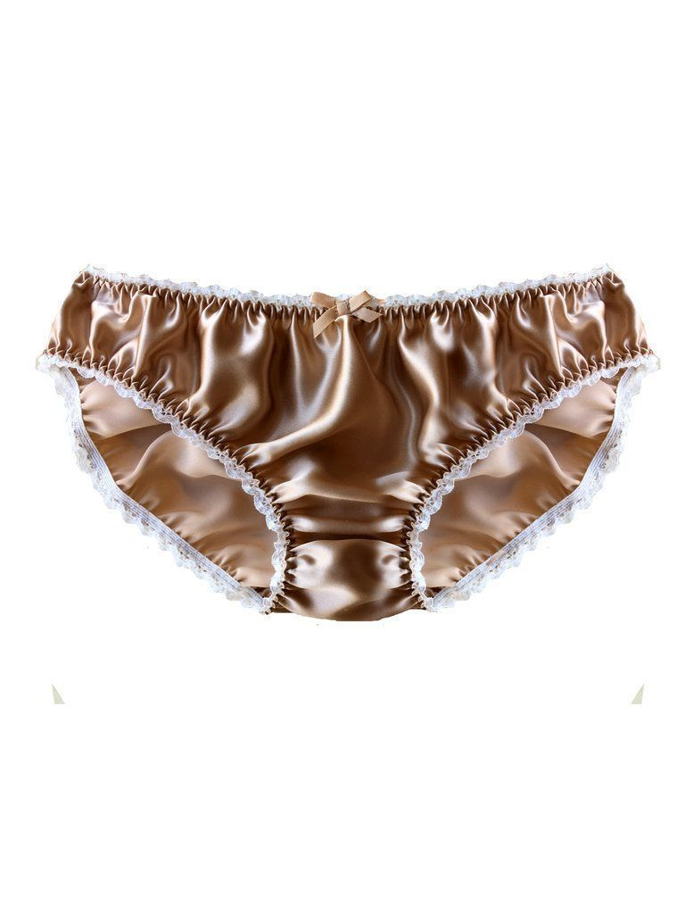 586b6a518a Nicola Classic Silk Knicker by Ayten Gasson. The pretty mink coloured silk  knicker