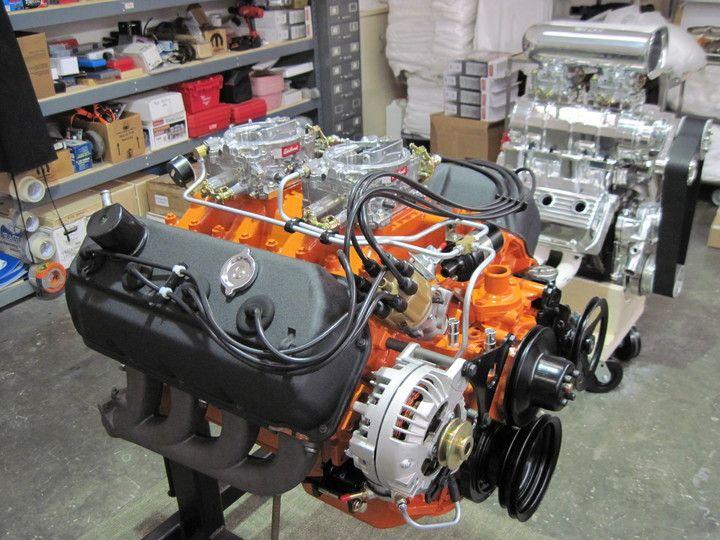 Classic hemi engine restoration 440 wedge engine repair