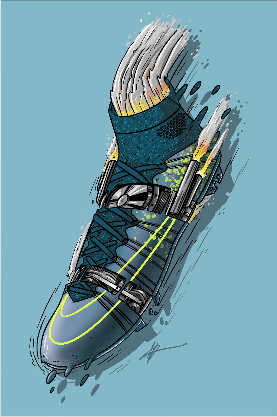 low priced 96c20 84bff Football Art - Nike Mercurial Superfly 4