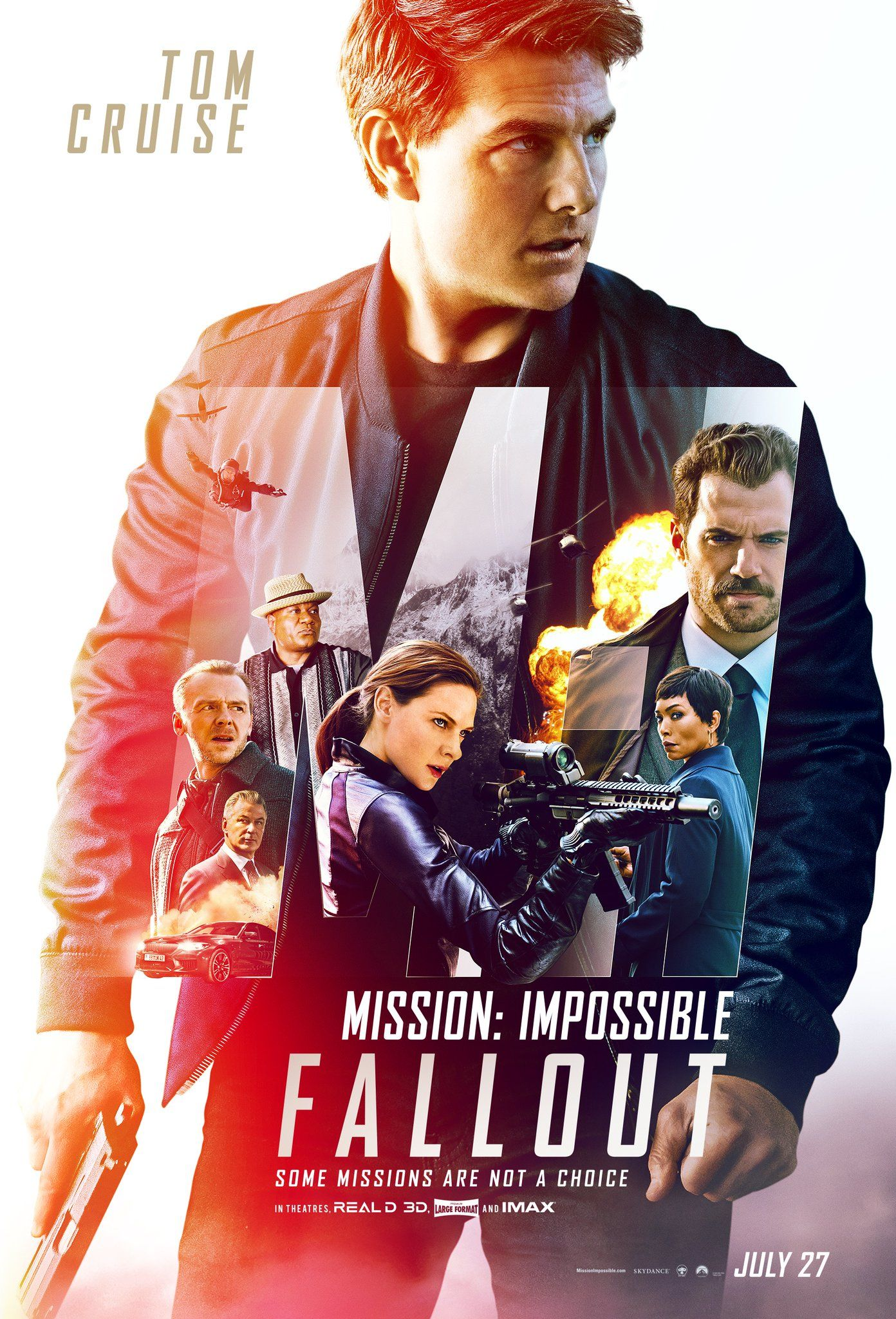 Mission Impossible 6 Fallout New Film Poster Https Teaser Trailer Com Movie Mission Impos Mission Impossible Fallout Fallout Movie Full Movies Online Free