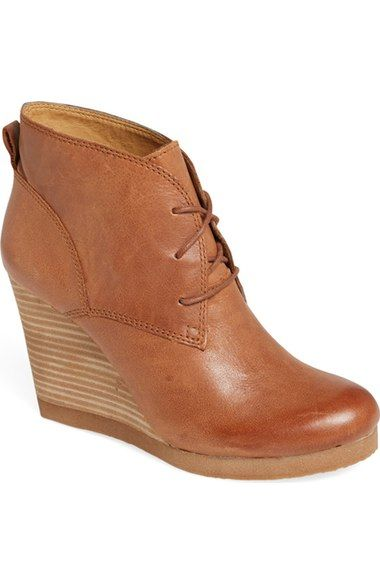 c4124d0af70 Lucky Brand  Taheeti  Wedge Bootie (Women) available at  Nordstrom ...