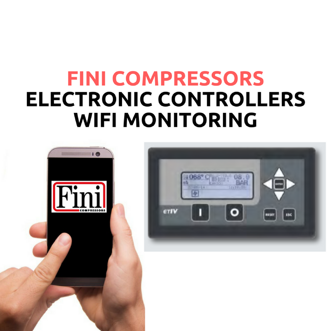 FINI Compressors with ETVI Electronic Controller. Now