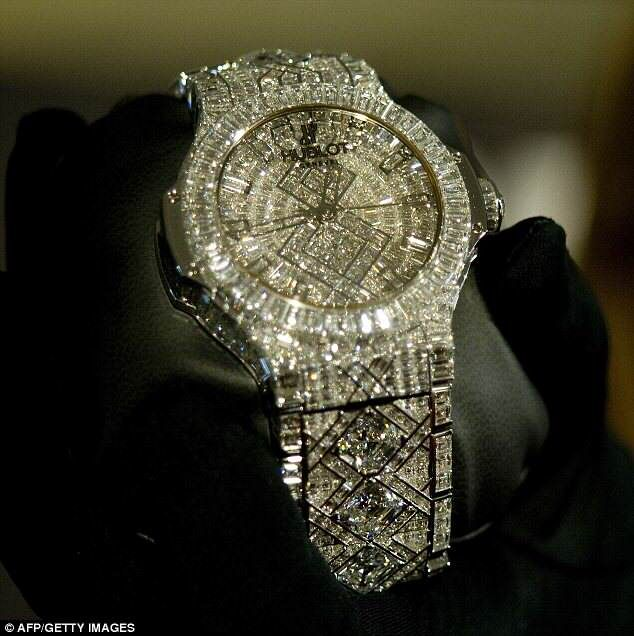 6c36bba29bc Será este o relógio mais caro do mundo