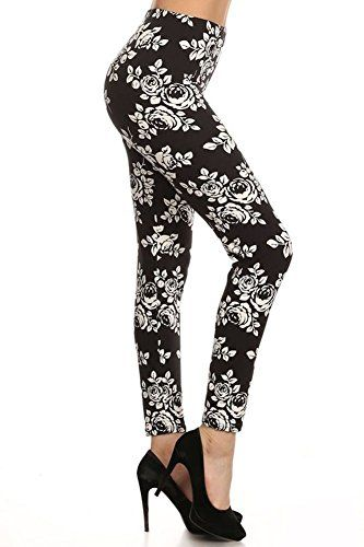 White Rose Floral Black Leggings Dysfunctional Doll https://www.amazon.com/dp/B01GQR0IDY/ref=cm_sw_r_pi_dp_2u4GxbBG7MN94