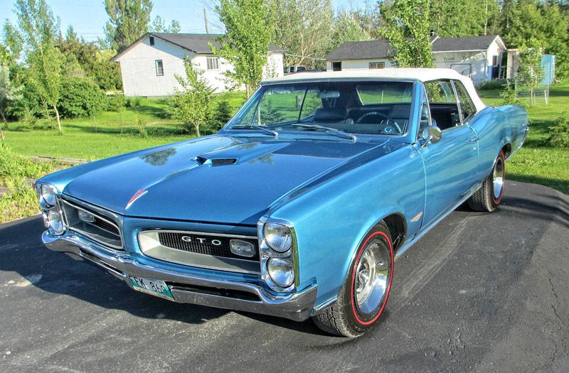 1966 Pontiac Gto Convertible 389 Tri Power 4 Speed Muscle Car Pontiac Gto Best Muscle Cars Pontiac